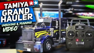 RC Truck Tamiya Grand Hauler 1/14 Stunning TRUCK  Scale Trucking  Construction  UNBOXING VIDEO