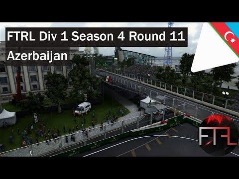 FTRL - Div 1 - Round 11 - Azerbaijan