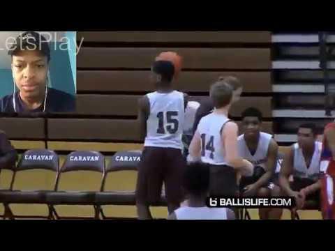 Dwyane Wade's son Zaire Wade, nephew Dahveon Morris Team Up! High School Highlights! REACTION