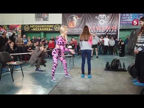 В Омске прошел первый турнир России по шлепкам по женским попкам. Победитель получил денежный приз.