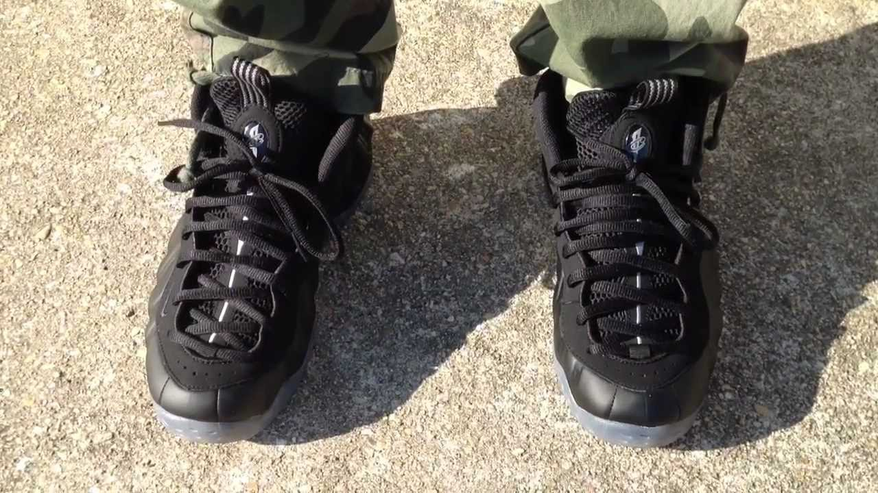 b0d53c94921 czech nike air foamposite one stealth on feet youtube af08e 2edd3