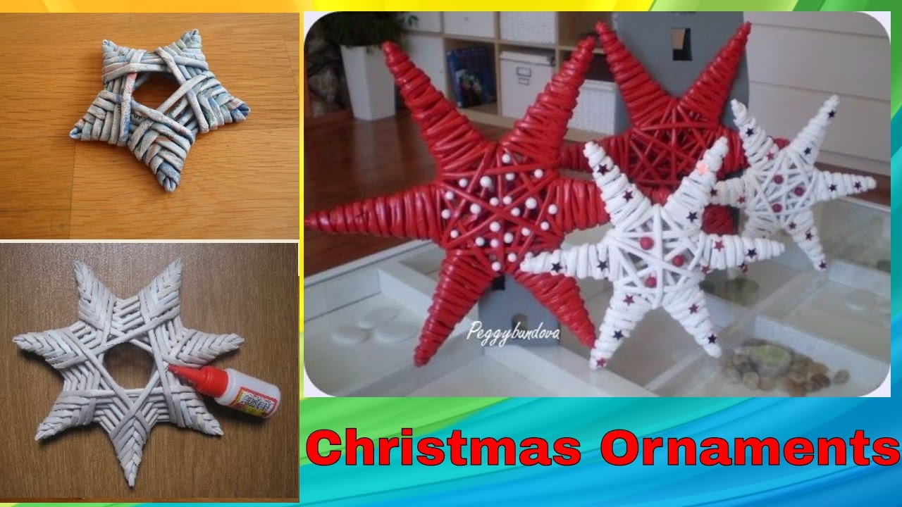 diy handmade christmas ornaments home decor xmas ideas 2017 2018 youtube - Christmas Decoration Ideas Diy