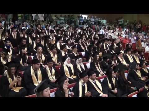 Tunis Business School graduation 2016