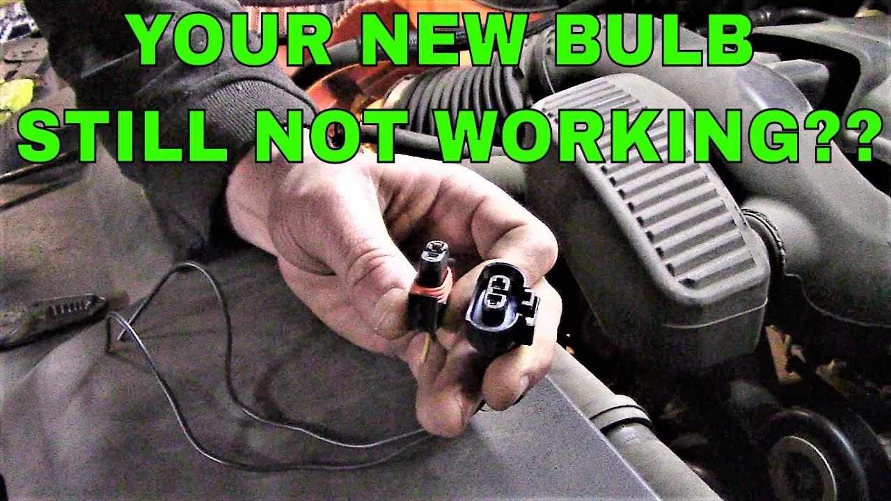 Chevy Silverado Headlights Not Working