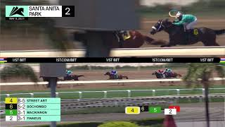 Street Art wins Race 2 on Sunday May 9, 2021 at Santa Anita Park.