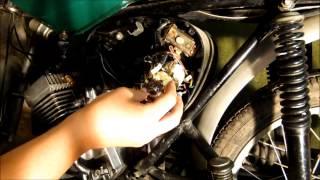 Simson S51 Zündlichtschalter wechseln (Scheinwerfer geht nicht)