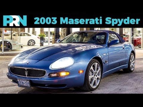 2004 Maserati Spyder | TestDrive