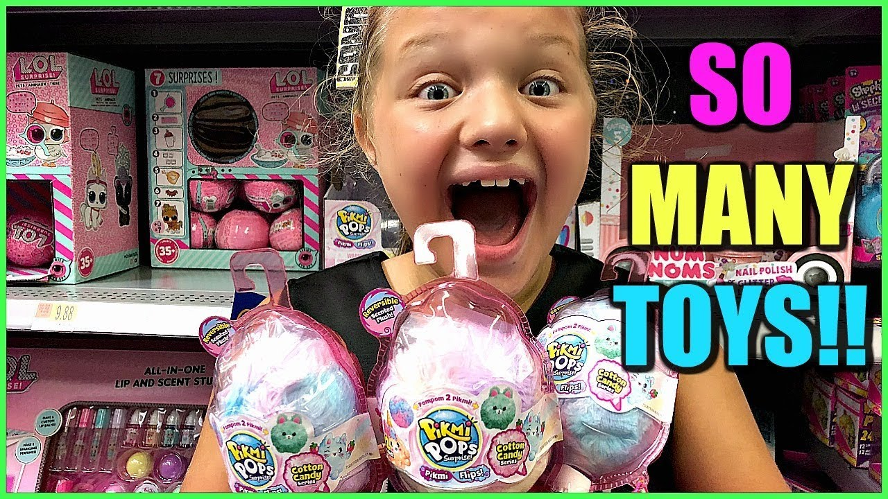Toy Shopping At Walmart For Lol Surprise Dolls House Pikmi Pops