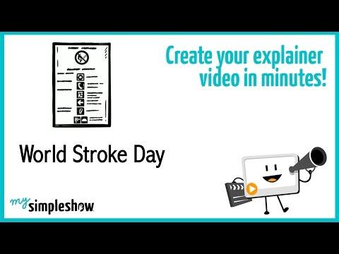 World Stroke Day - mysimpleshow