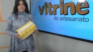 Frasqueira com Quilt com Vanessa Fernandes