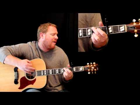 Overcome-Worship Tutorial (Jeremy Camp, Jon Egen) w/ Chord Sheet-One Finger Chords