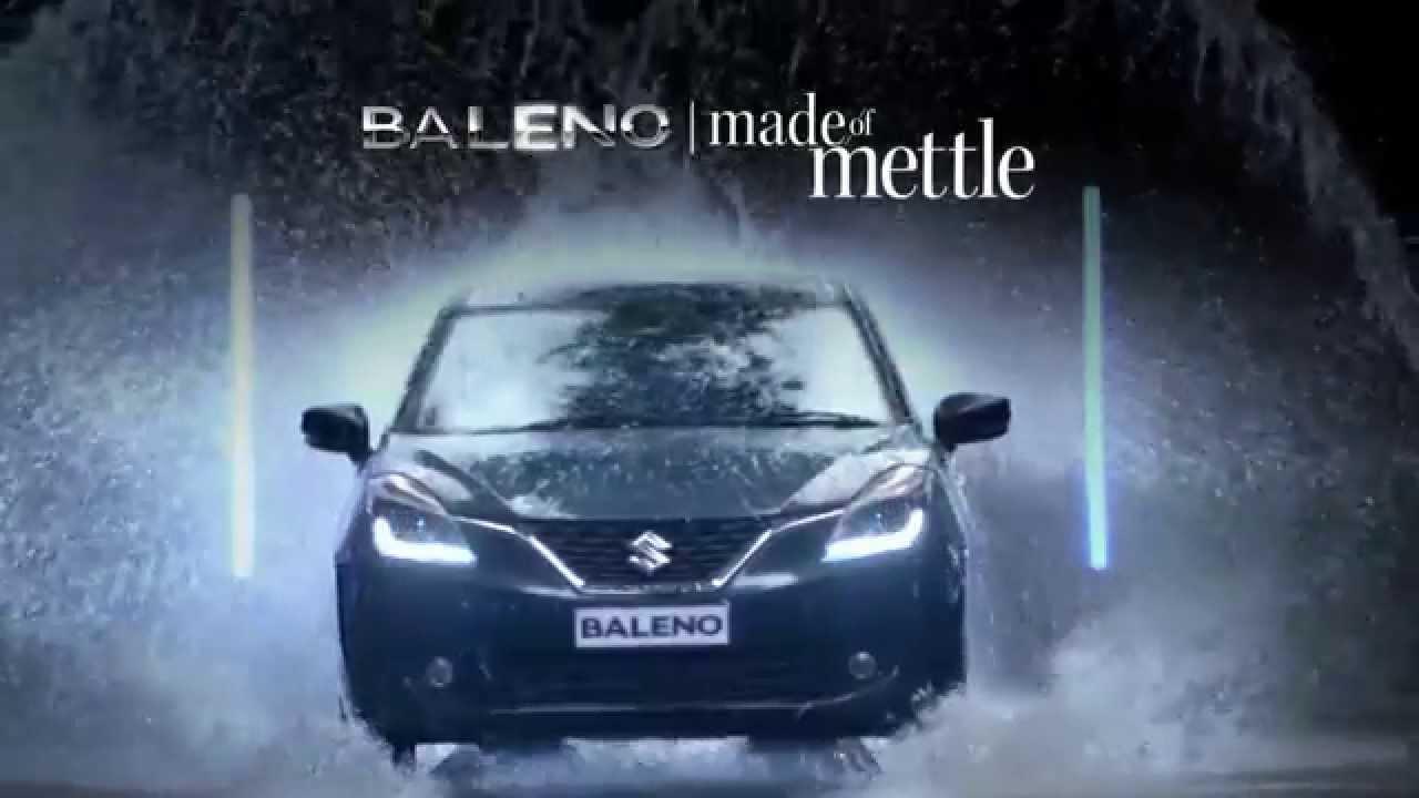 Baleno Tvc Ad Nexa Experience Youtube