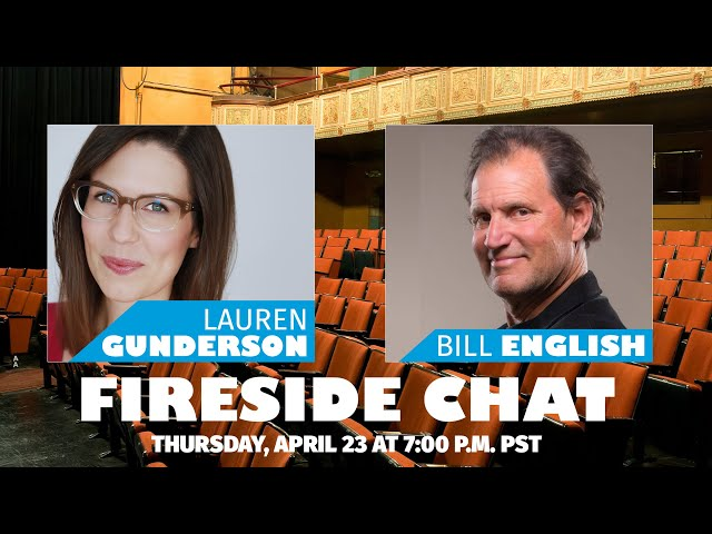 Empathy Gym Fireside Chats | Lauren Gunderson