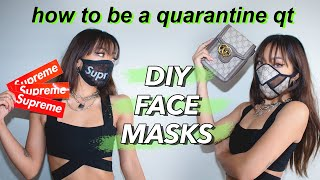 Baixar DIY Face Mask Tutorial: upcycling items I found in my home into masks!