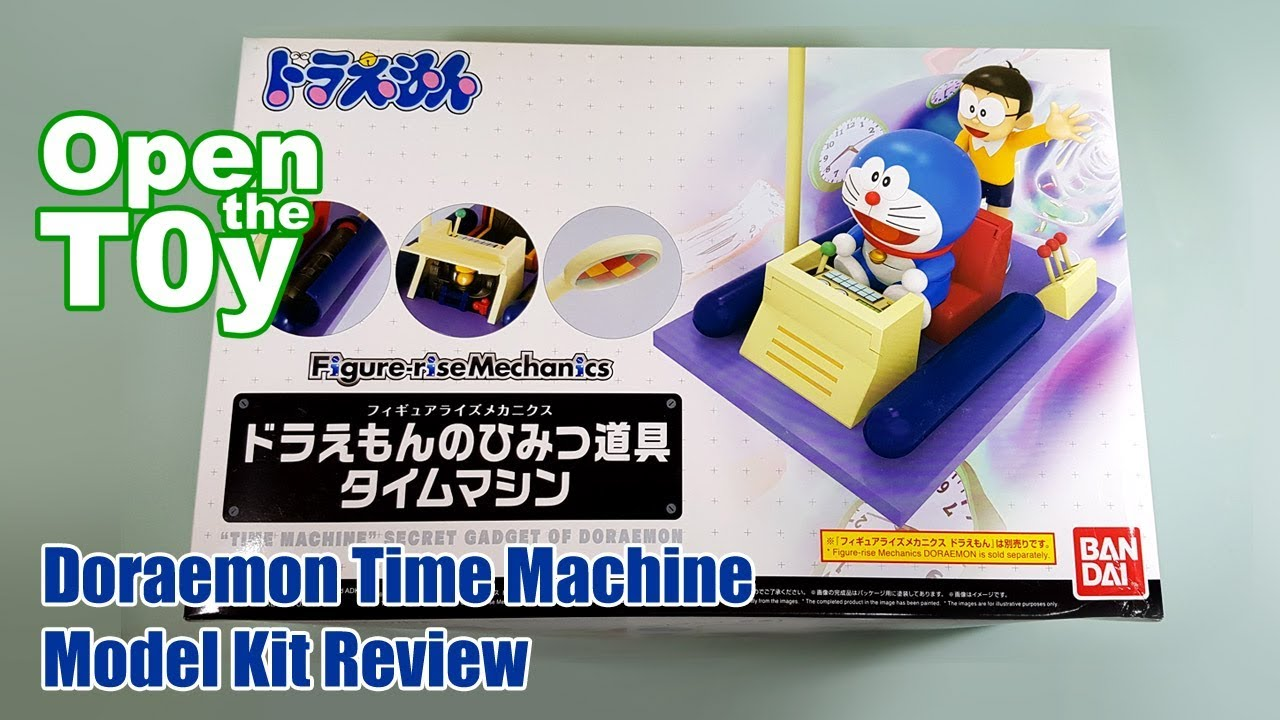 Bandai Figure-rise Mechanics Doraemon Time Machine Model Kit Review