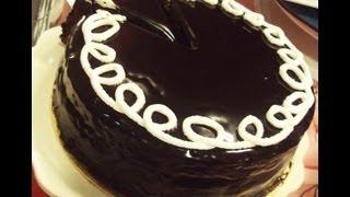 Repeat youtube video تورتة الشوكولاتة المحشية  - منال العالم