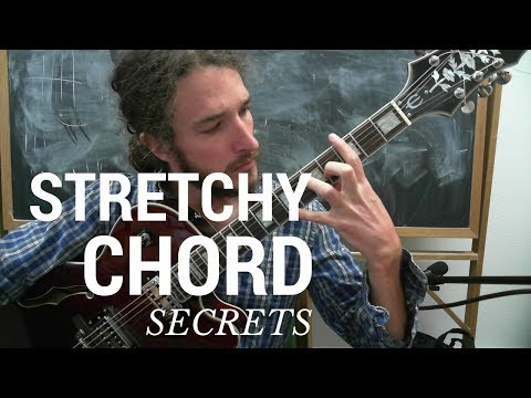 Your Hand is Not Too Small to Play Guitar! Secrets of the Stretch REVEALED