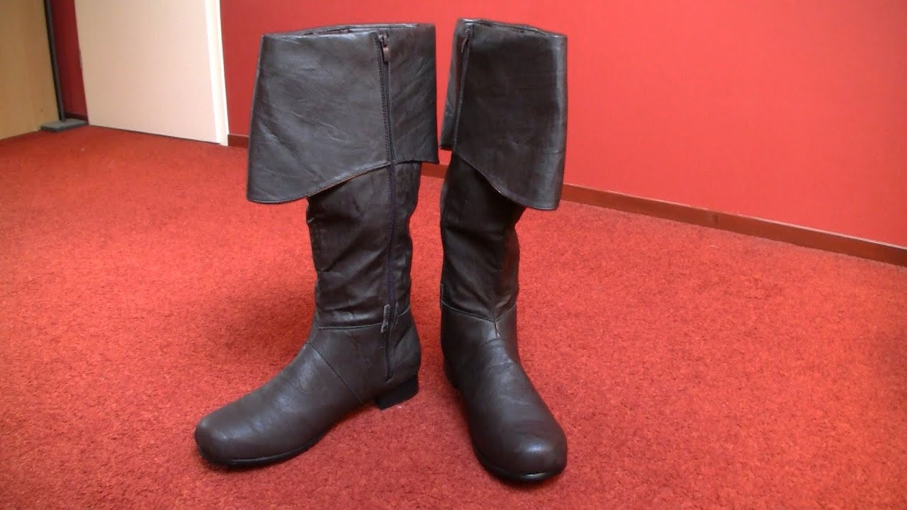 & Edward costume (AC4:BF): boots tutorial - YouTube