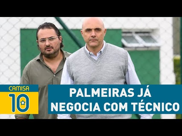 Palmeiras já NEGOCIA com técnico para 2018! SAIBA QUAL!