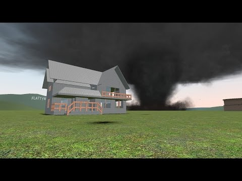 Gmod Tornado Survival | House Smashed! (gDisasters)
