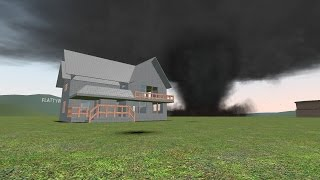 Gmod Tornado Survival   House Smashed! (gDisasters)