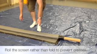 Bragsil 2014 - How To Make An Outdoor Projector Screen.