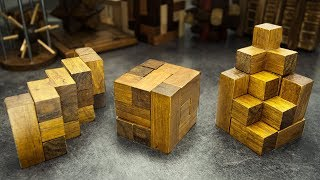 The Soma Cube. Hundreds of shapes and solutions.