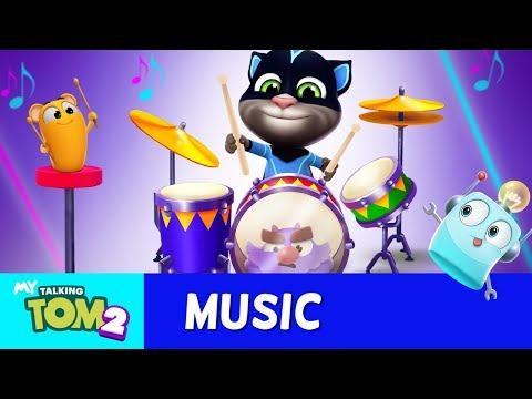 🥁 Drumming Superstars TALENT SHOW 🥁 My Talking Tom 2