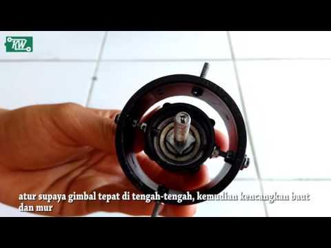 Membuat KW Stabilizer Camera dari barang bekas