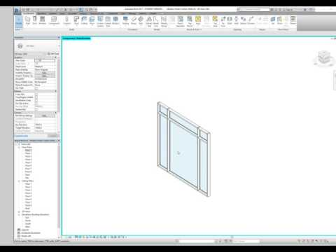 Create door in Curtain Wall Revit
