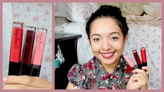 TANYA BURR LIPGLOSSES ♡ Live Application & Swatches (new shades!) Thumbnail