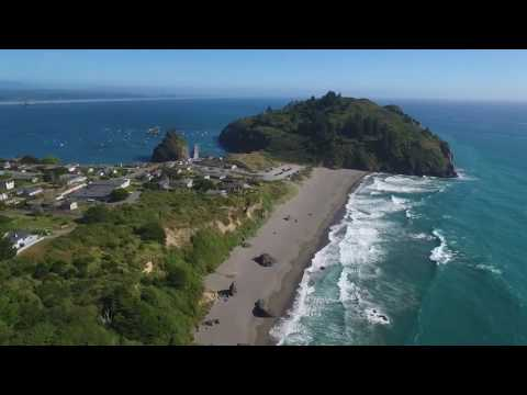 Humboldt County Beaches  Aerial Video
