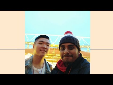 Touring the Emirates Stadium & Central London VLOG featuring Vincent