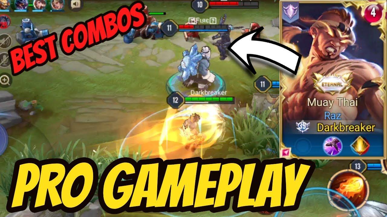 RAZ PRO GAMEPLAY - BEST COMBOS | AoV | 傳說對決 | RoV | Liên Quân Mobile