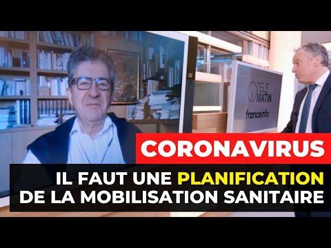 CORONAVIRUS: «Il faut une planification de la mobilisation sanitaire»