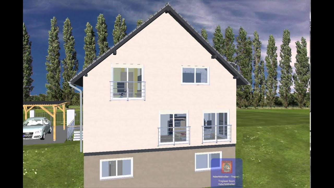 Haus bauen beispiele  EMI SUPPORT Haus bauen Fertighaus Anbieter Hersteller Grundriss ...