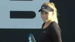 Amanda Anisimova vs. Eugenie Bouchard   Full Match   2020 Auckland Quarterfinal