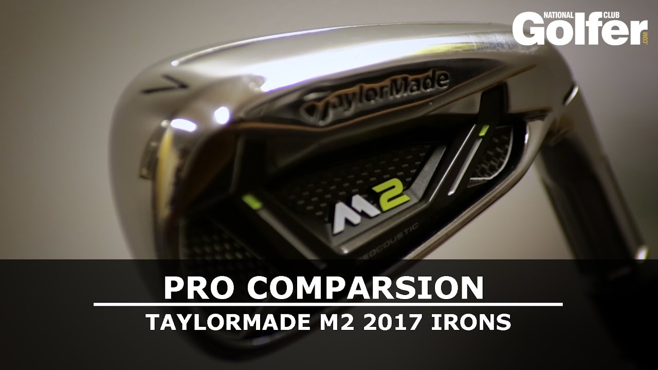taylormade m2 irons 2017 pro comparison the golf shack academy youtube. Black Bedroom Furniture Sets. Home Design Ideas