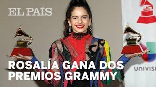 ROSALÍA gana dos premios en los GRAMMY LATINOS