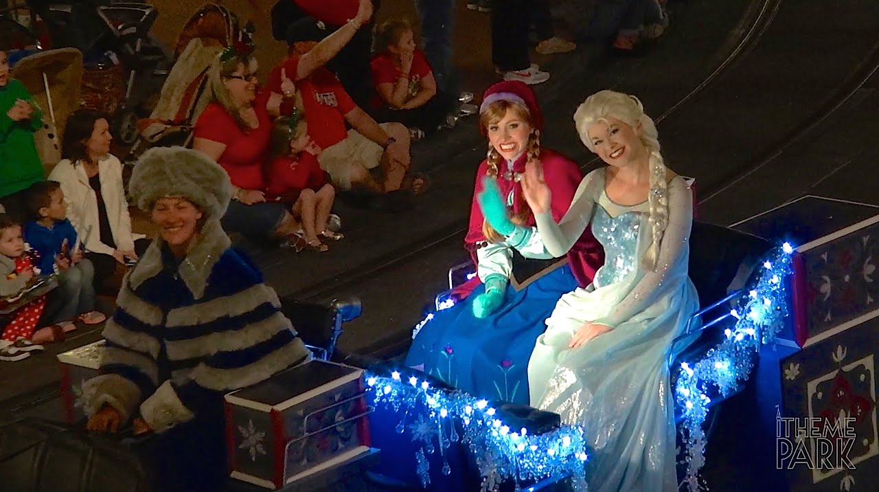 mickeys once upon a christmastime parade during mickeys very merry christmas party disney world - Disney World Christmas Party