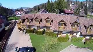 Apartamenty Kamratowo z lotu drona!