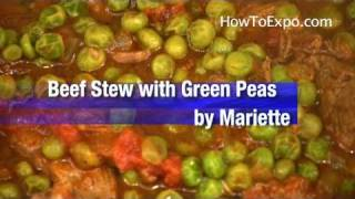 Beef Stew Best Beef Stew With Green Peas By Mariette From How To Expo