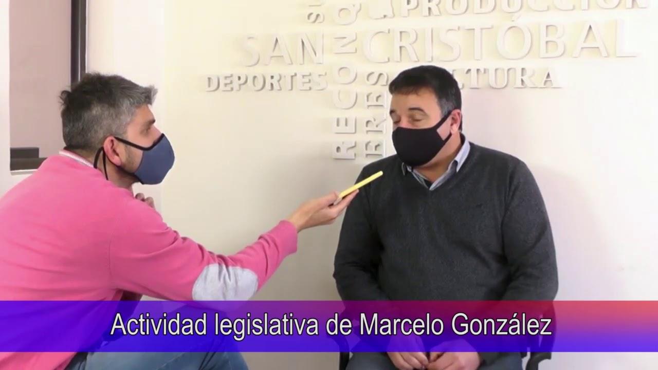 Actividad legistativa de Marcelo González