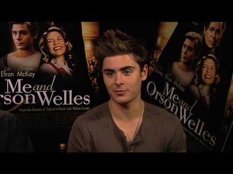 Zac Efron on Me and Orson Welles