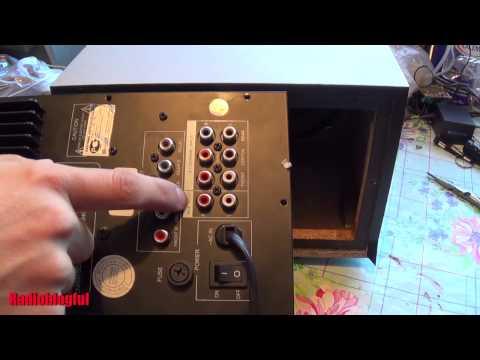 Встраиваемый Mp3 модуль. Установка в акустическую систему