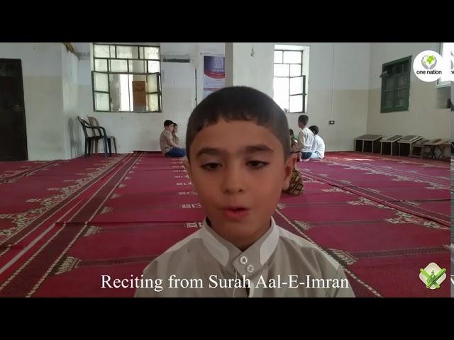Hafiz In Syria ~ October 2020