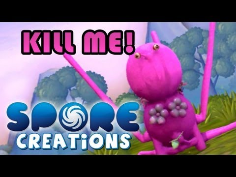 PROFESSOR DICKINSON IS BORN! - Spore: Creations #1