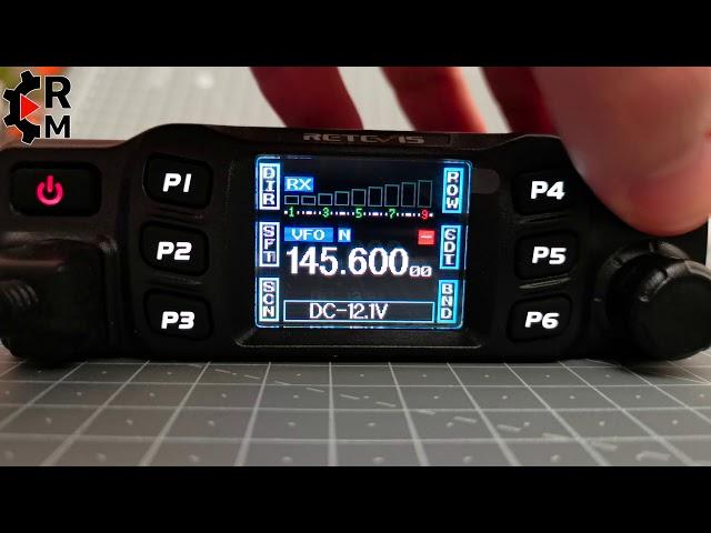 Teil 1 Vorstellung RETEVIS RT95 Mobilfunkgerät VHF/UHF