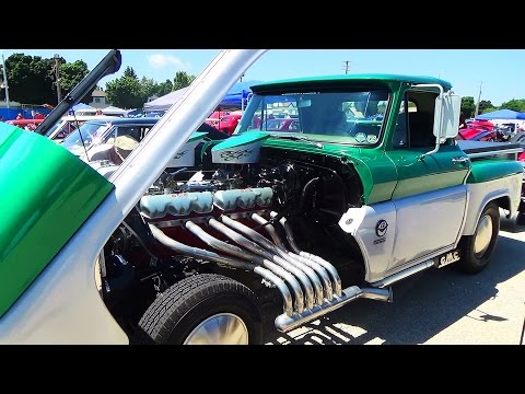 1964 GMC Pickup V-12  2015 Car Craft Summer Nationals