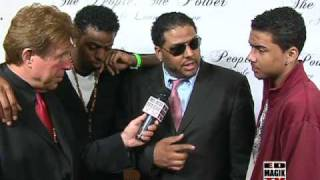 Al B. Sure at A Lifestyle, Music Lounge Soiree